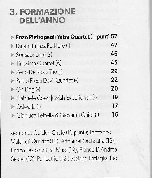 top jazz 2013
