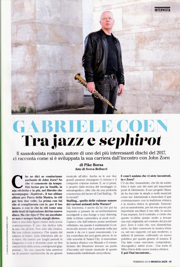intervista musica jazz febbraio 2018